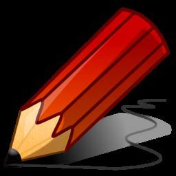 matita rossa 256x256